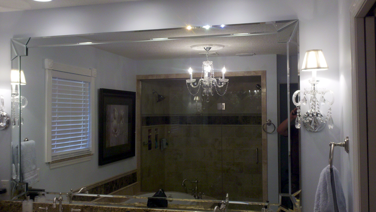 Bathroom Mirror Installation Replacement Affordable Auto Glass Mirror